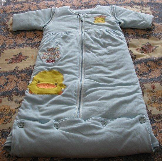 婴儿睡袋做法婴儿睡袋什么牌子好黄色小鸭睡袋黄色