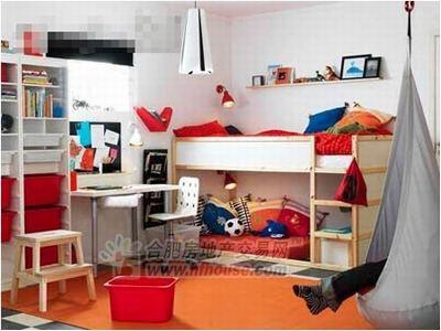 宜家儿童房样板间图片-搜房网装修效果图   宜家儿童房样板