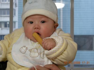 帮助宝宝长牙齿